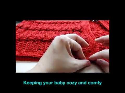 Baby Crochet Sleeping Bag
