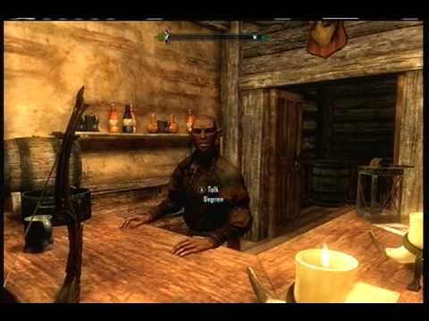 Skyrim - How to get Level 100 Speech (Quick and Easy)