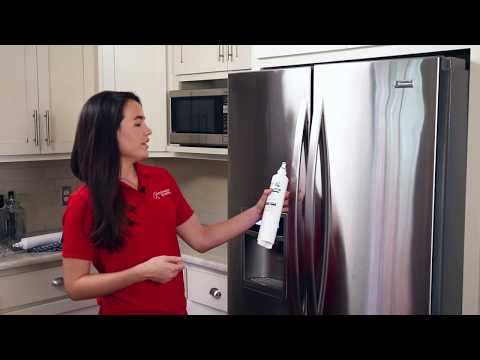 How To: Replace the Water Filter in your Kenmore Elite Refrigerator (9990 Filter by Neo-Pure)