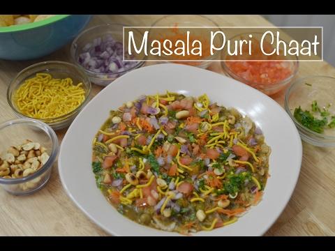 Masala puri chaat recipe - Megha's Cooking Channel - Episode 117