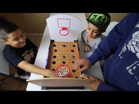 TABLETOP BASKETBALL! (trick shots)