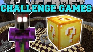 Minecraft: WITCH SPIDER CHALLENGE GAMES - Lucky Block Mod - Modded Mini-Game
