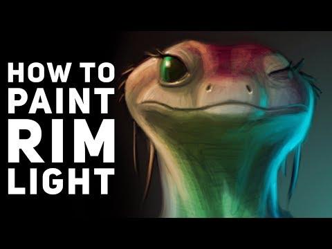 How to Paint Rim Light