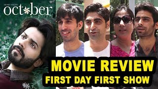 October Movie BEST Review | First Show Public REVIEW | Varun Dhawan,Banita Sandhu