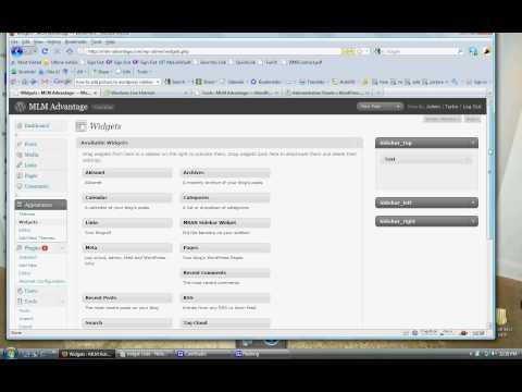How to Use Wordpress - Adding an Image to Your Wordpress Sidebar