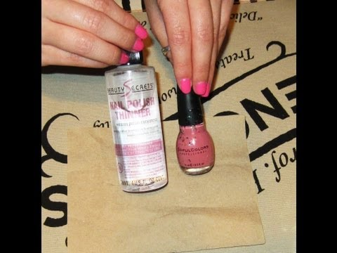 How to: Thin Out Thick, Hard to Work with Nailpolish