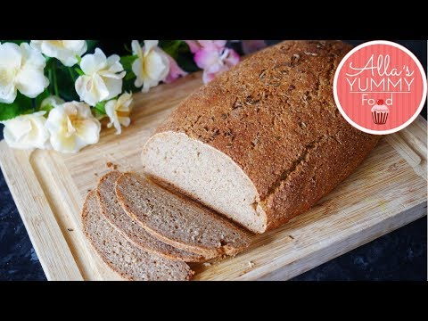 How to make Black Rye Bread | Rye Bread Recipe