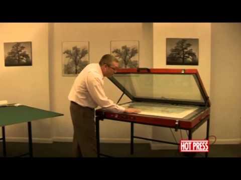 Drytac Hot Press Vacuum Press - Dry Mounting onto Foam Board