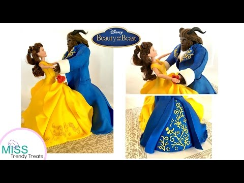 BEAUTY AND THE BEAST DANCING DOLL CAKES COLLAB w/ KOALIPOPS! 🌹-MISS TRENDY TREATS