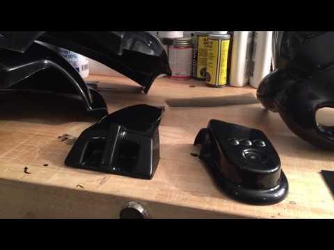 WTF TIE Pilot Helmet Assembly (Part 2 - Trimming)