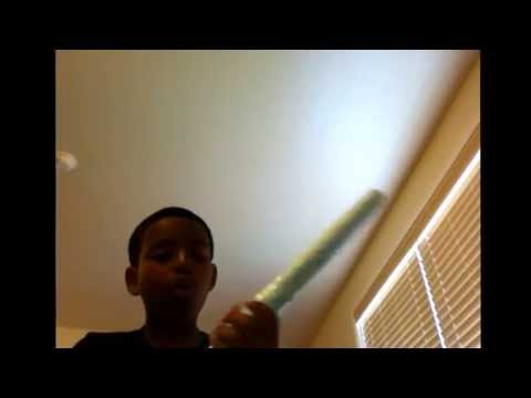 How to make a paper lightsaber