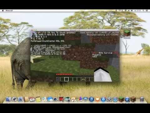 Macbook Air 2013 Minecraft FPS test