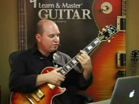 Steve Krenz on barre chord thumb pain (Learn and master guitar)