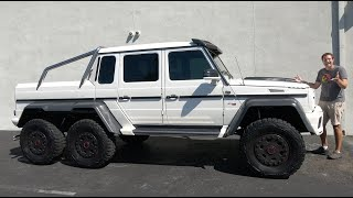 The Mercedes G63 AMG 6x6 Is the Ultimate $1.5 Million Pickup Truck