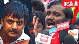 திருமுருகன் காந்தியை  விடுதலை செய் ! Velmurugan Demands To Release Thirumurugan Gandhi