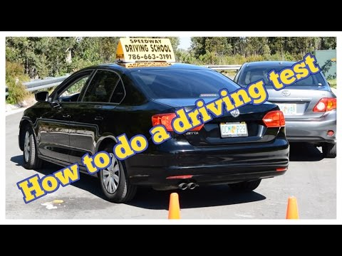 TIPS TO PASS YOUR DRIVING TEST THE FIRST TIME license how to drive
