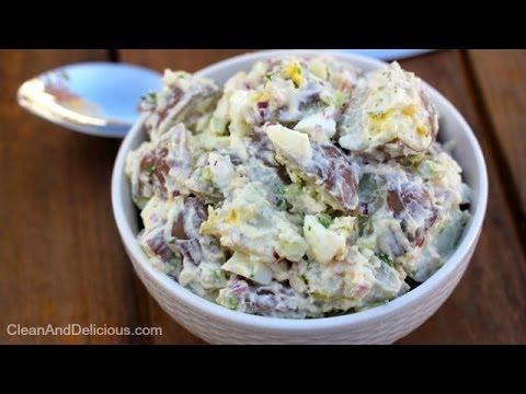 Easy Creamy Potato Salad - Clean&Delicious
