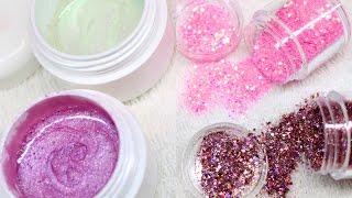 ♡ How to: Mix Colorgels & Glittermixes