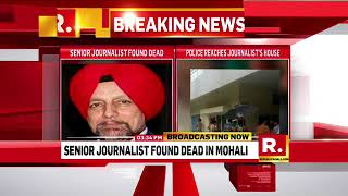Senior Journalist Found dead