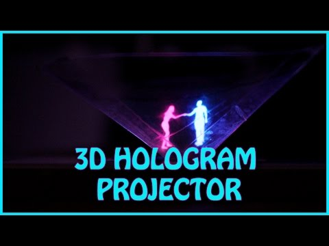 How To Make 3D Hologram Projector | EASY DIY