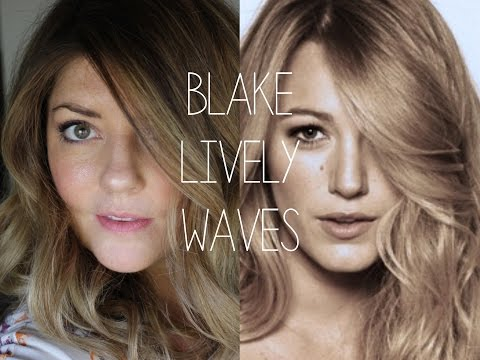 Blake Lively Waves | Perfectly undone texture - easy!
