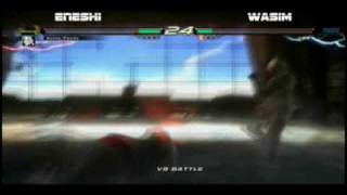 tekken 6 rb6quarterfinals eneshi vs wasim
