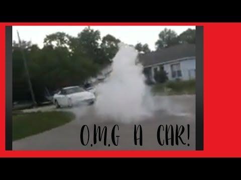 OMG!! a car