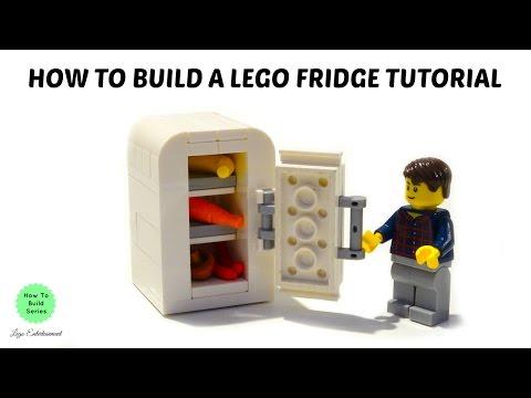 HOW TO BUILD A LEGO FRIDGE TUTORIAL
