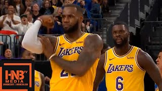 Los Angeles Lakers vs Golden State Warriors 1st Half Highlights   10.10.2018, NBA Preseason
