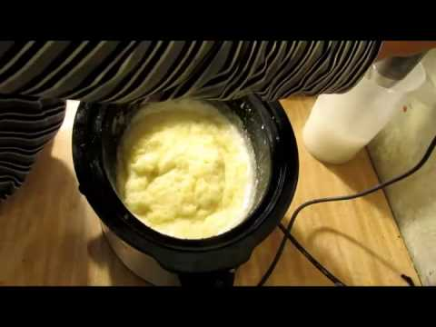 How To Make Homemade  Melt & Pour Base From Scratch  Pt 1