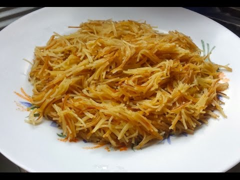 Fried Sweet Vermicelli/Sheria - SS Cooking - Episode 12