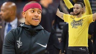 Isaiah Thomas BLAMES Steph Curry For His Son