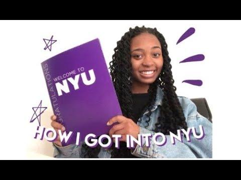 HOW I GOT INTO NYU (SAT, ACT, GPA, etc)