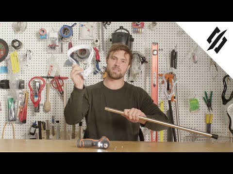 How to Use the Locking Bolt on a Non-Metal 2 Lacrosse Shaft   Mark 2V   StringKing