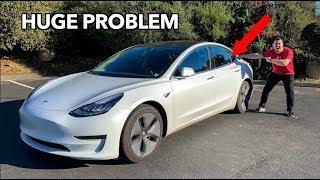 Download A HUGE PROBLEM WITH THE TESLA MODEL 3!! Video