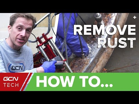 How To Remove Rust From Your Bicycle | Clean Your Bike With Household Products