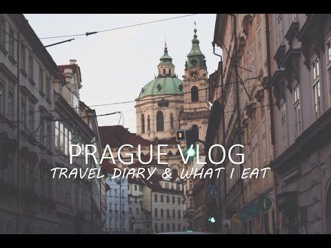 Prague Vlog ❤ Mini Travel Diary & What I Eat (VEGAN)