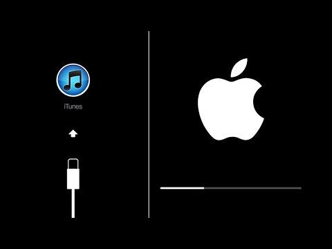 iPhone iPad iPod touch Congelado en Manzana Logo despues de restaurar en ajustes como arreglar