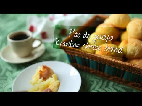 Pao de Queijo - Delicious Brazilian cheese bread   Video recipe