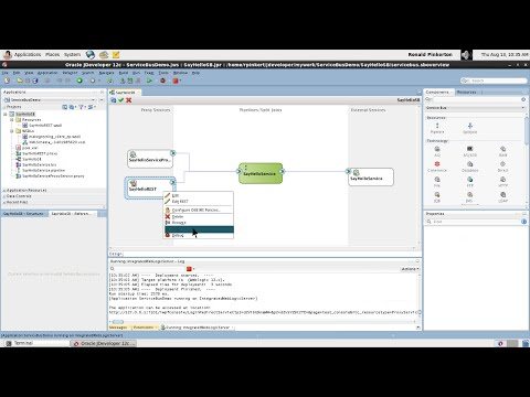 06. Creating a Service Bus Application with Oracle JDeveloper 12c