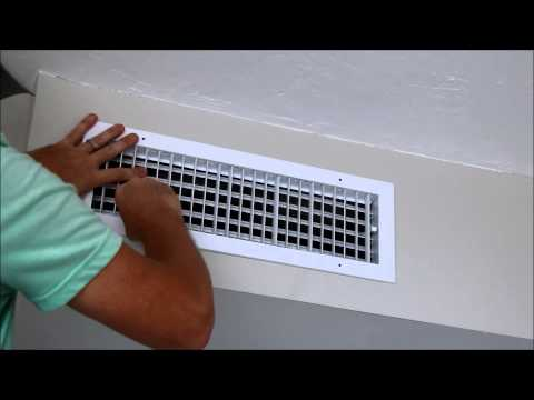 How to Install a New A/C Register