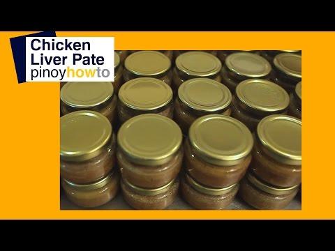 How to make Chicken Liver Pâté | PinoyHowTo
