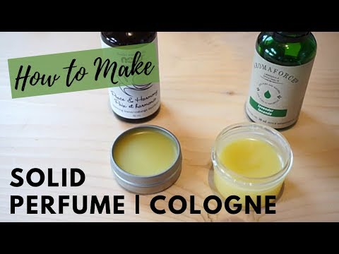 How to Make | Solid Perfume | All Natural Ingredients