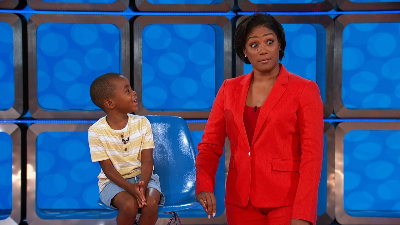 Tiffany Haddish Meets Her Biggest Fan - Kids Say The Darndest Things