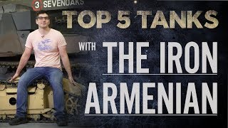 Top 5 Tanks - The Iron Armenian | The Tank Museum