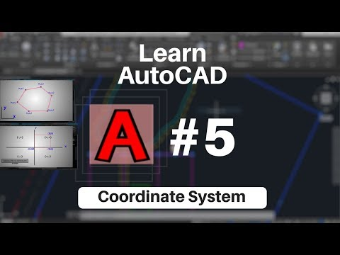 Autocad Tutorial In Hindi || Coordinate System