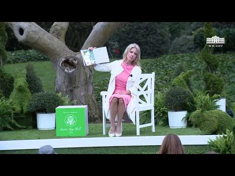 White House Easter Egg Roll: Reading Nook with Counselor to the President Kellyanne Conway