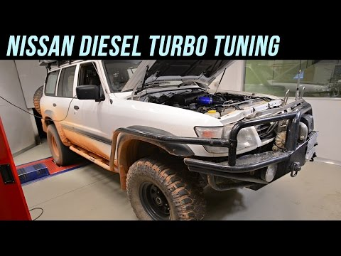 Nissan Diesel Turbo Tuning by JPC