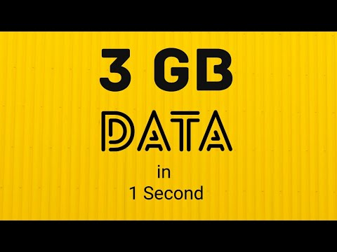3GB data in 1 Second / 5G internet tested in India / Bharti Airtel Huawei