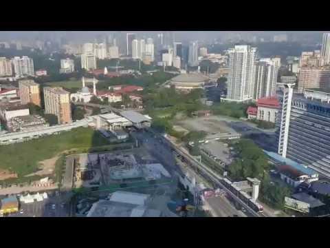 Kuala Lampur View from Time Square Berjaya Hotel, Bukit Bintang